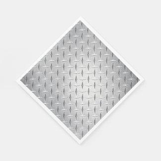 Guardanapo De Papel Placa de metal do diamante