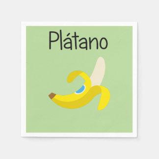 Guardanapo De Papel Platano (banana)