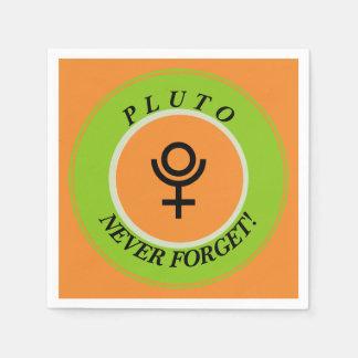 Guardanapo De Papel Pluto, nunca esquece