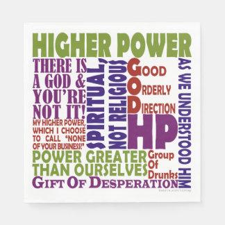 Guardanapo De Papel Poder mais alto de 12 etapas