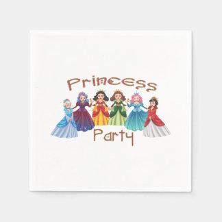 Guardanapo De Papel Princesa festa de aniversário