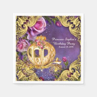 Guardanapo De Papel Princesa festa de aniversário do conto de fadas