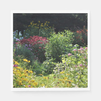 Guardanapo De Papel Profundamente nos jardins de setembro!
