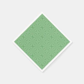 Guardanapo De Papel Quadrado Squiggly verde-maçã
