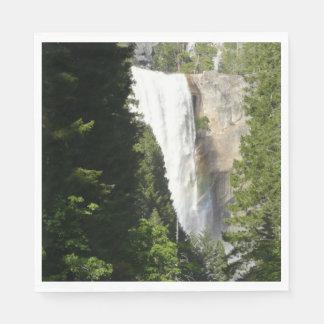 Guardanapo De Papel Quedas Vernal II no parque nacional de Yosemite