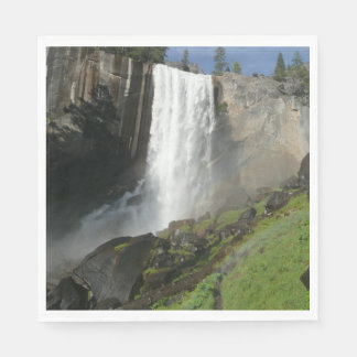 Guardanapo De Papel Quedas Vernal mim no parque nacional de Yosemite