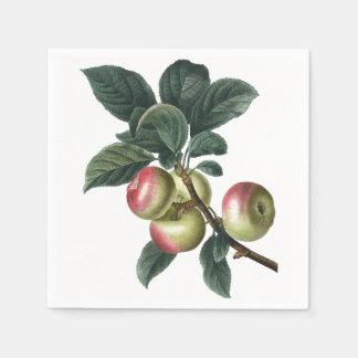 Guardanapo De Papel Ramo de maçãs vermelhas