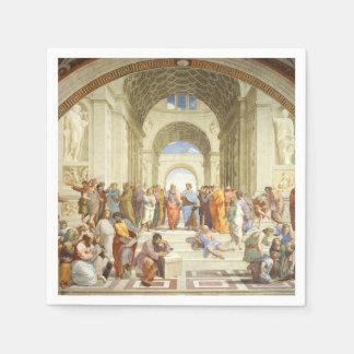 Guardanapo De Papel Raphael - A escola de Atenas 1511