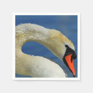 Guardanapo De Papel Retrato de uma cisne bonita