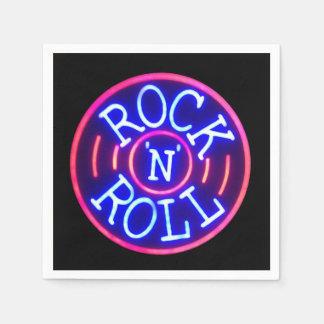 Guardanapo De Papel Rock and roll