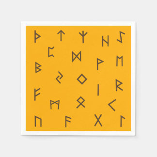 Guardanapo De Papel Runes de Viking