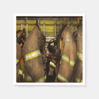 Guardanapo De Papel Sapador-bombeiro - engrenagem do depósito