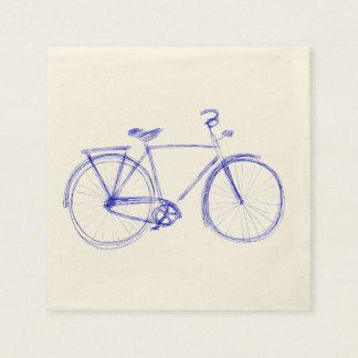 Guardanapo De Papel Scribble da bicicleta