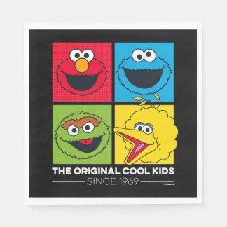 Guardanapo De Papel Sesame Street | os miúdos legal originais