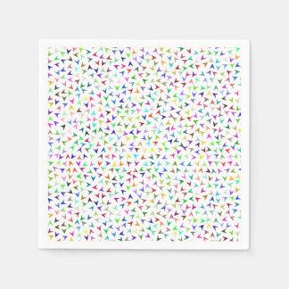 Guardanapo De Papel Setas coloridas pequenas