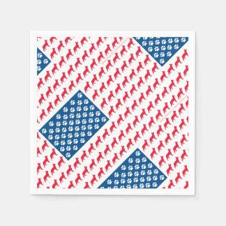 Guardanapo De Papel Shepard-Bandeira patriótica