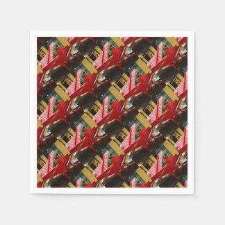 Guardanapo De Papel Simplesmente vermelho: piano de cauda