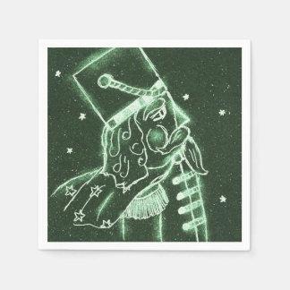 Guardanapo De Papel Soldado de brinquedo em Forest Green profundo