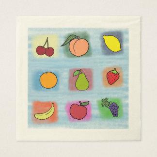 Guardanapo De Papel Surpresa da fruta