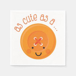 Guardanapo De Papel Tão bonito quanto uma laranja do botão
