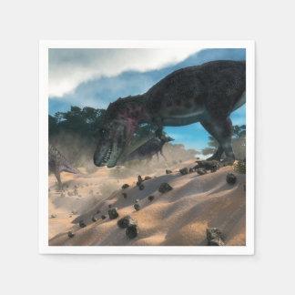 Guardanapo De Papel Tarbosaurusnext à floresta liban do cedro