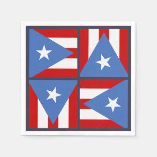 Guardanapo De Papel Tema do partido de Puerto Rico: Teste padrão