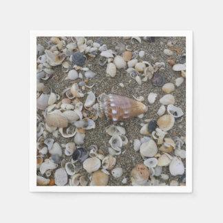 Guardanapo De Papel Tesouro do Seashell do Conch
