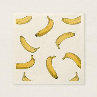 Guardanapo De Papel teste padrão da banana