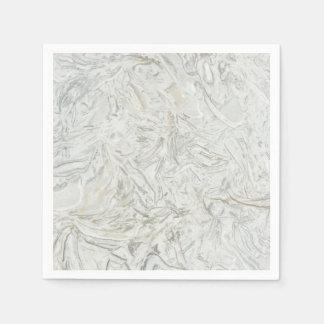 Guardanapo De Papel Teste padrão de superfície de mármore cinzento