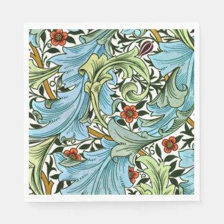 Guardanapo De Papel Teste padrão do vintage de William Morris -
