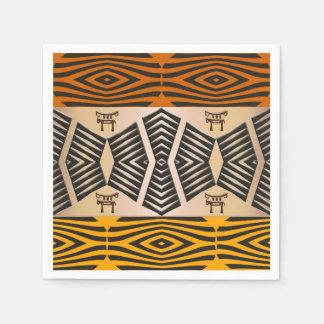 Guardanapo De Papel teste padrão tribal africano étnico
