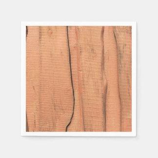 Guardanapo De Papel Textura de madeira