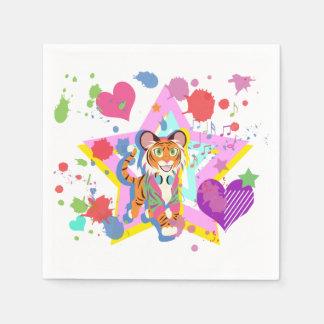 Guardanapo De Papel Tigre Cub