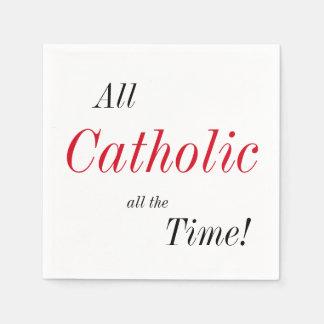 Guardanapo De Papel Todo o católico todo o tempo!