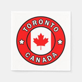 Guardanapo De Papel Toronto Canadá