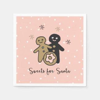 Guardanapo De Papel Tradições de doces do Natal | para o papai noel