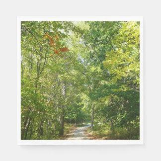 Guardanapo De Papel Trajeto arborizado centenário mim natureza da