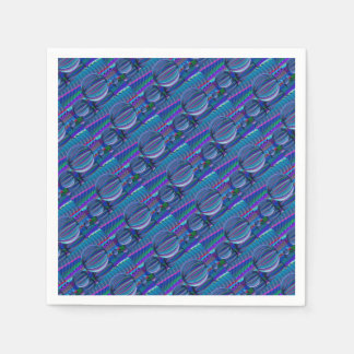 Guardanapo De Papel Três bolas de vidro na cor