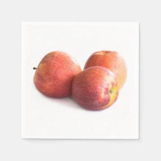 Guardanapo De Papel Três maçãs vermelhas