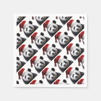 Guardanapo De Papel Urso de panda do Natal