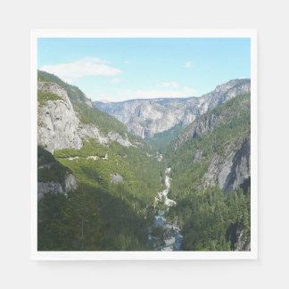 Guardanapo De Papel Vale de Yosemite no parque nacional de Yosemite