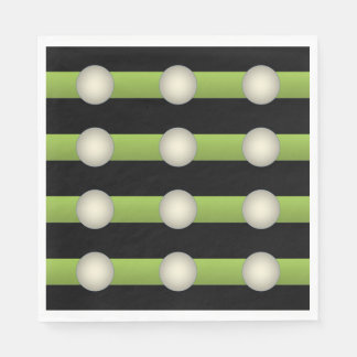Guardanapo De Papel Verde abstrato do minimalismo