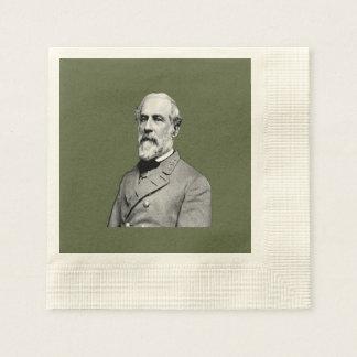 Guardanapo De Papel Verde do general Robert E. Lee EUA Exército