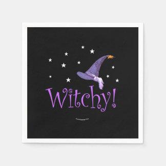Guardanapo De Papel Witchy
