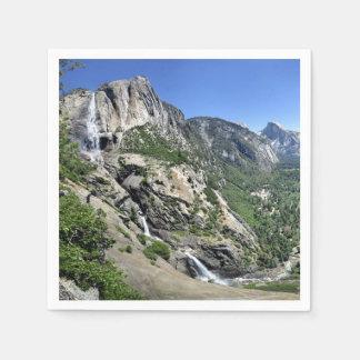 Guardanapo De Papel Yosemite Falls e meia abóbada oh de meu Gosh ponto