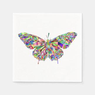 Guardanapo do cocktail da borboleta