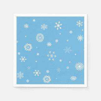 Guardanapo do floco de neve