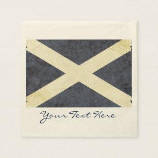 Guardanapo do partido da bandeira de Scotland