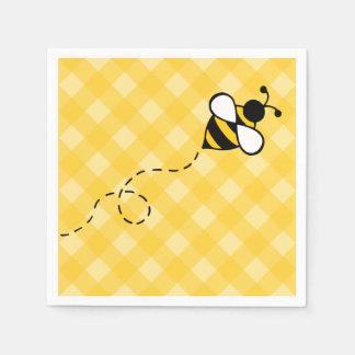 Guardanapo do piquenique do partido da abelha do