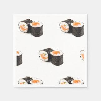 Guardanapo do sushi, fontes do partido de Foodie